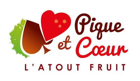 Pique et cœur marque de fraises, fruits rouges et fruits à coques en Dordogne-Périgord
