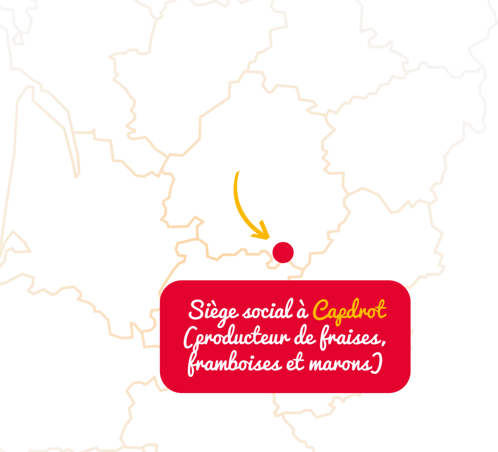 Siege social de Fruits Rouges du Périgord à Capdrot en Dordogne